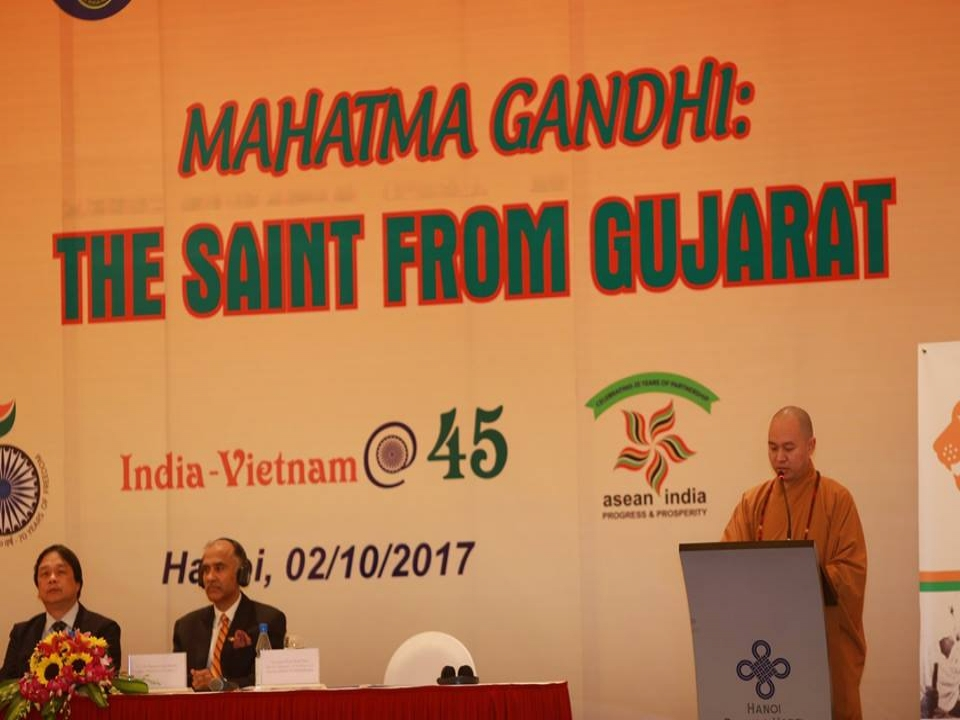 Mahatma Gandhi's birth anniversary celebrations