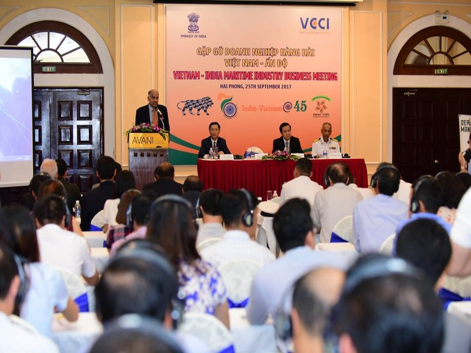 India-Vietnam Maritime Industry Business Meeting in Haiphong