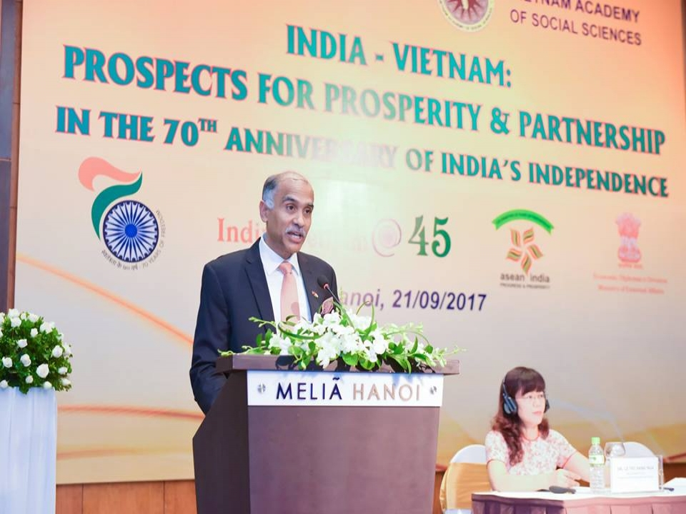 Workshop on India-Vietnam: Prospects for Prosperity & Partnership