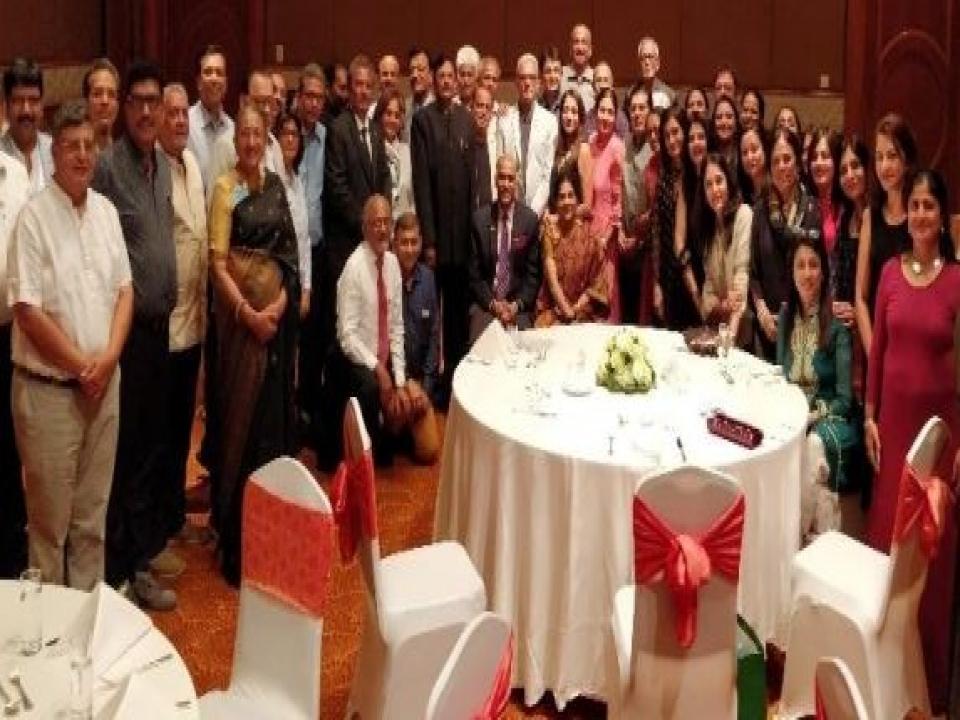 Ambassador meets Rotary Club members