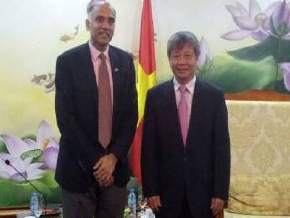Ambassador calls of VM of Planning and Investment