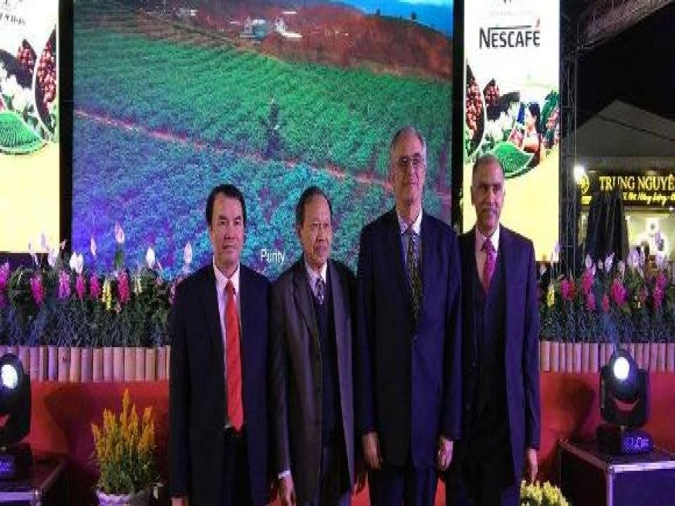 Ambassador attends 1st Vietnamese Coffee Day