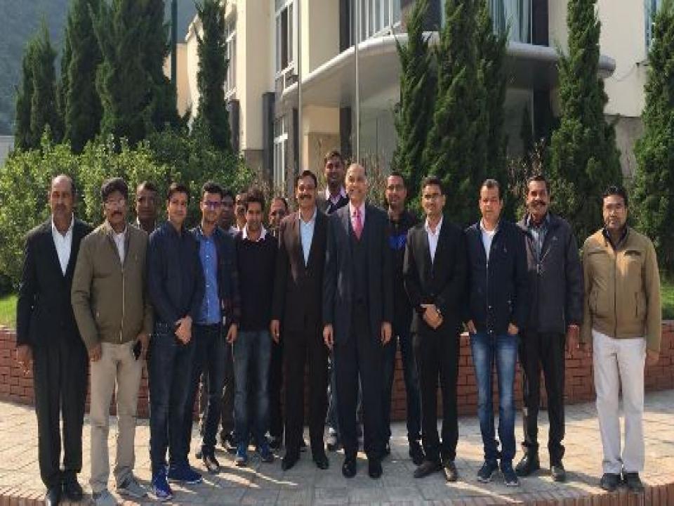 Ambassador visited R.K. Marble Vietnam Ltd. at Luc Yen District