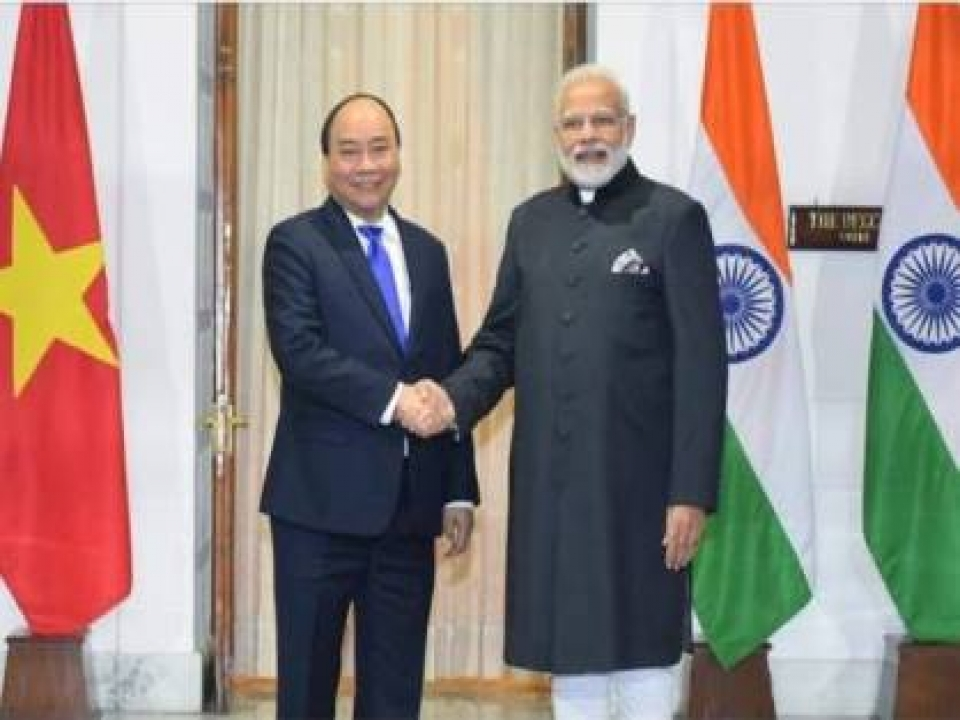 Delegation level talks between India and Vietnam
