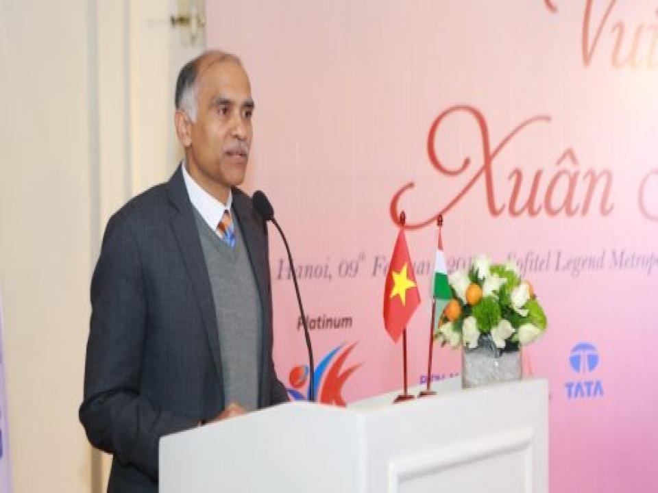 Embassy organises Tet Reception