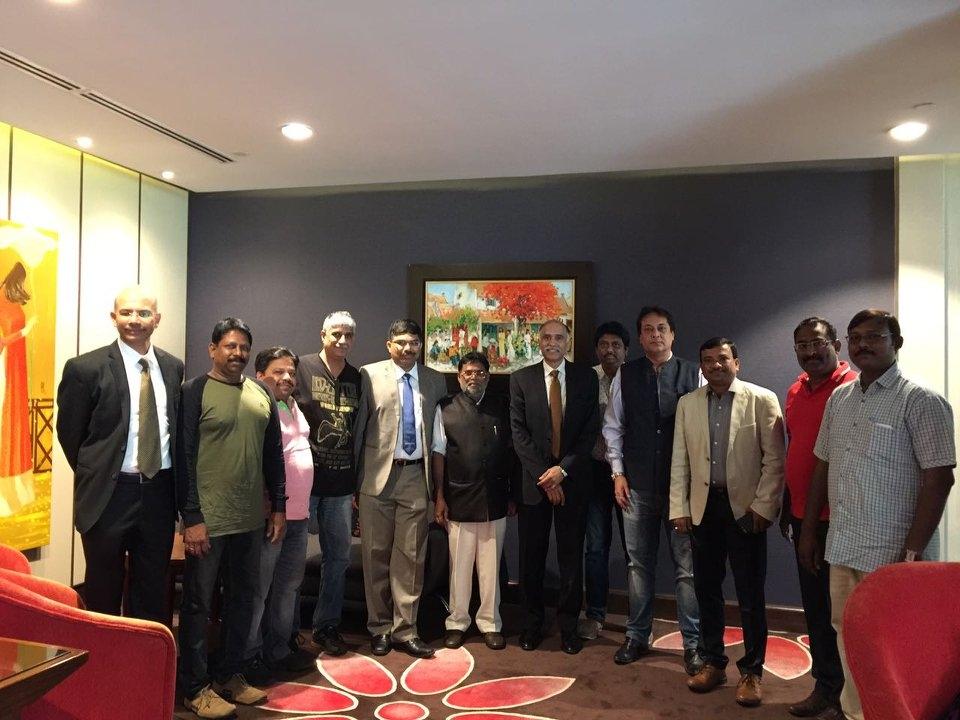 Ambassador meets AP Fishermen Coop Federation