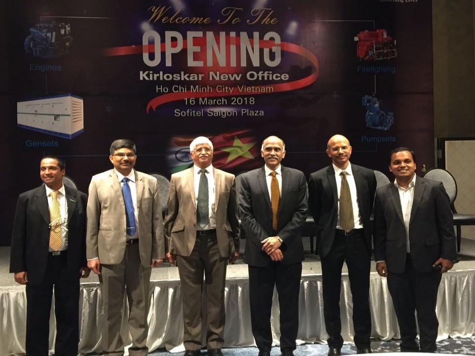 Ambassador attends Kirloskar Oil Engines Office Opening in HCMC