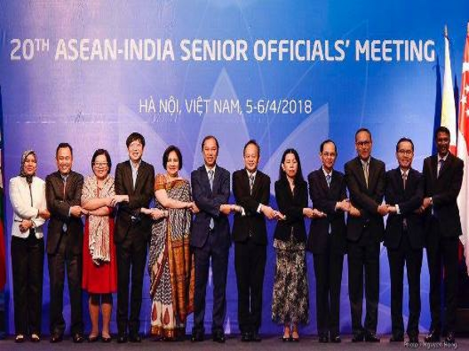 Secretary (East) attends 20th AISOM in Hanoi