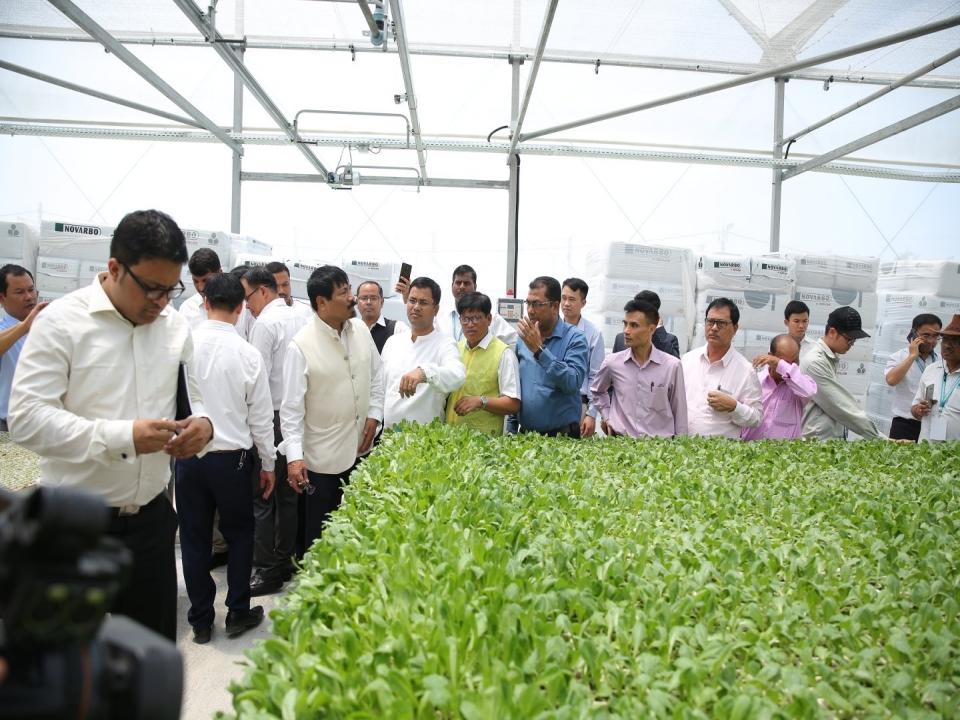Assam delegation visits Vinh Phuc province