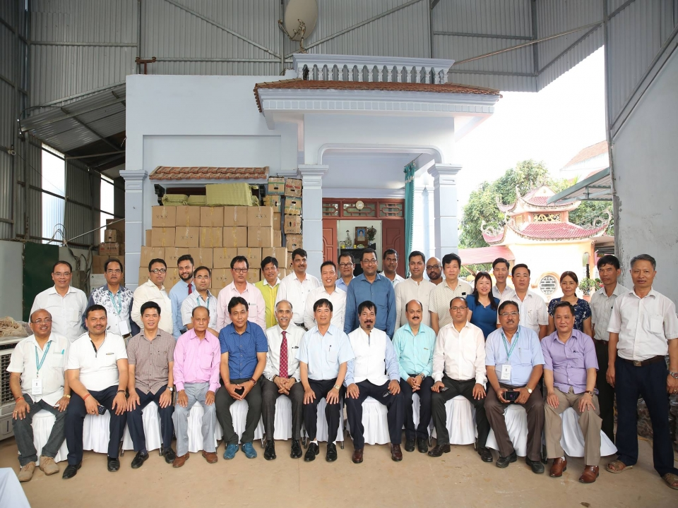 Assam delegation visits Hung Yen province