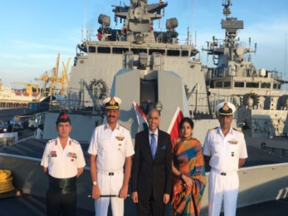 Indian Naval Ships visit Danang