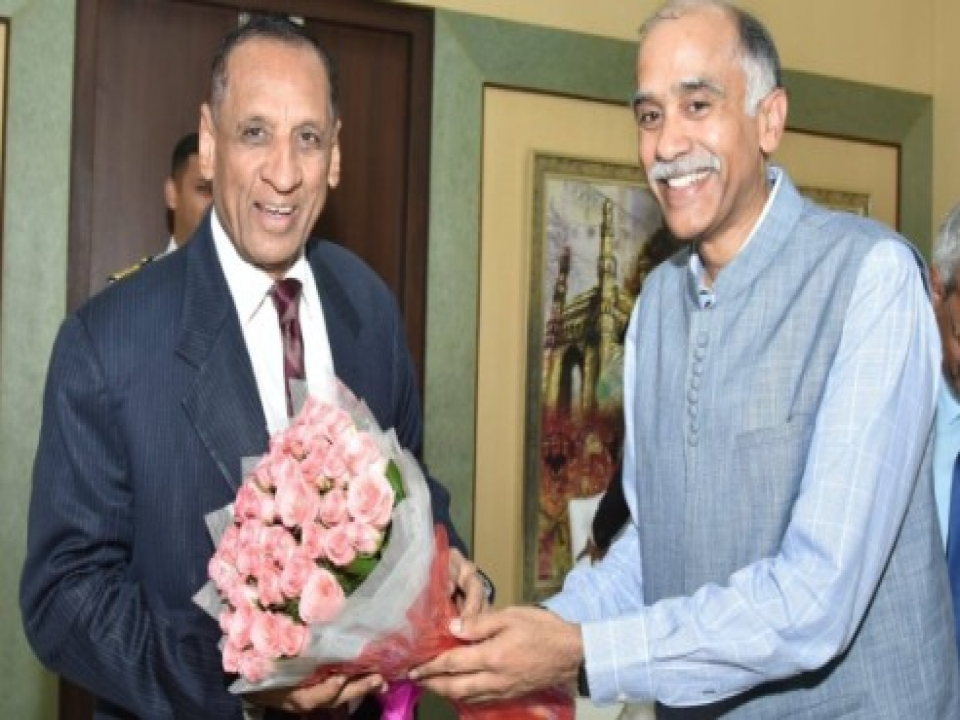 Ambassador meets Governor of Andhra Pradesh