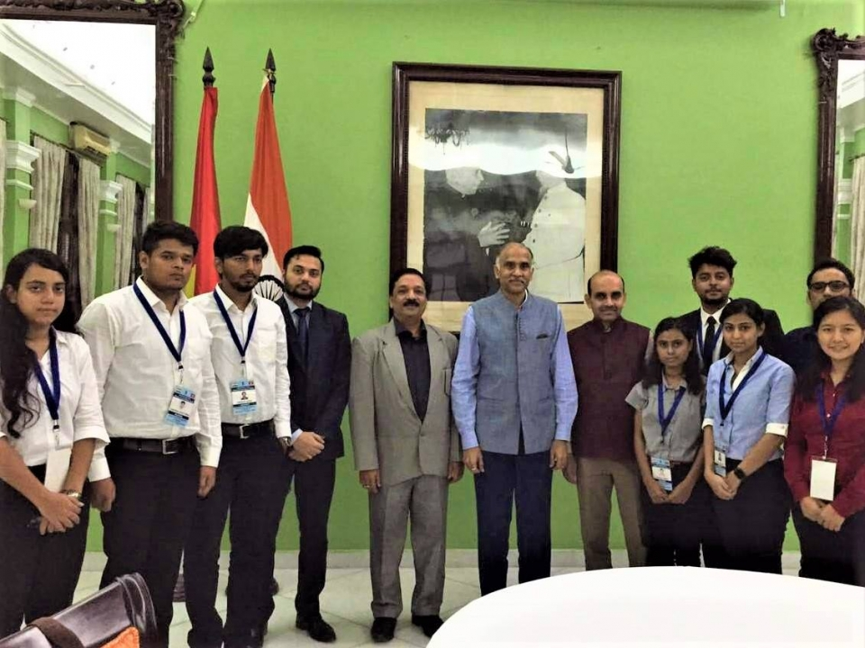 Visit of Indian Youth Delegation to Vietnam