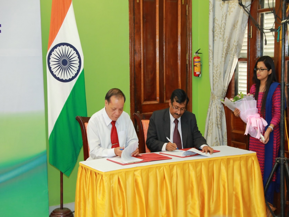 Signing Ceremony of an MOU between ICCS and My Son Board
