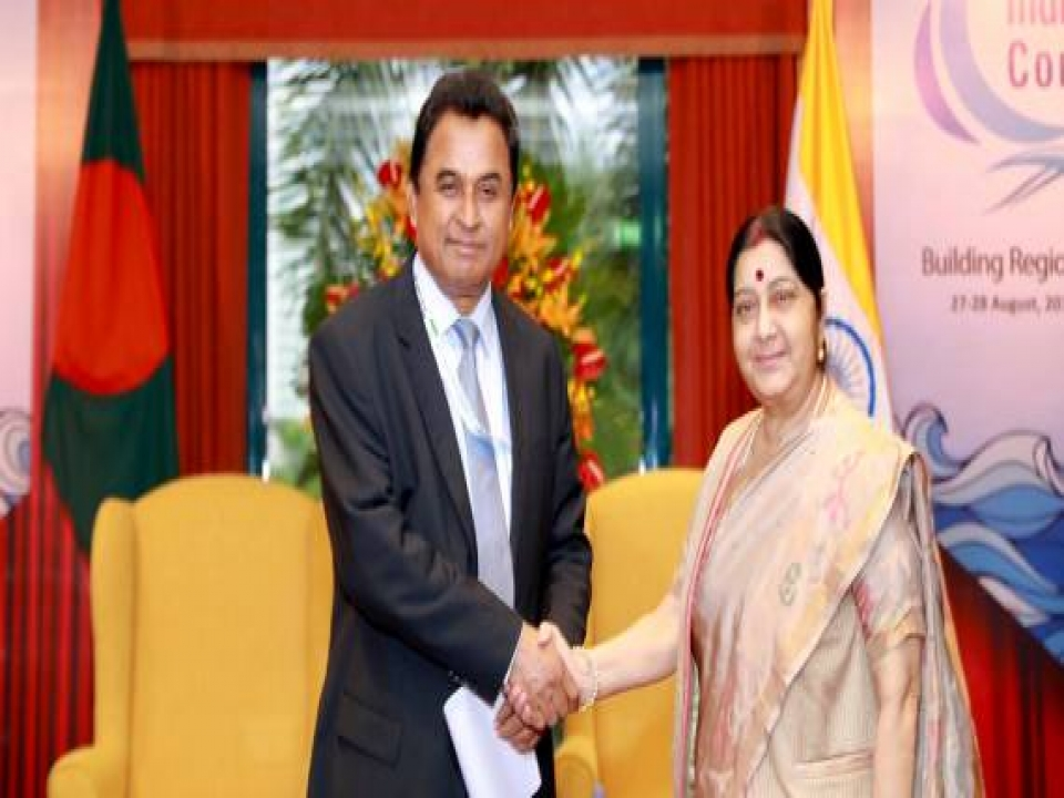 Hon'ble EAM met with Planning Minister of Bangladesh