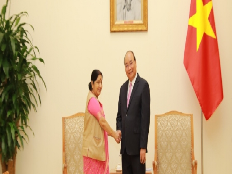 EAM's Call on Vietnamese PM