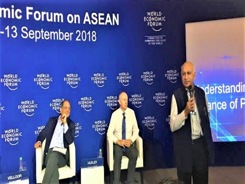 """Closing Remarks by MOS at the interactive panel session on """"Understanding Asia's New Balance of Power"""" at the WEF on ASEAN in Hanoi"""