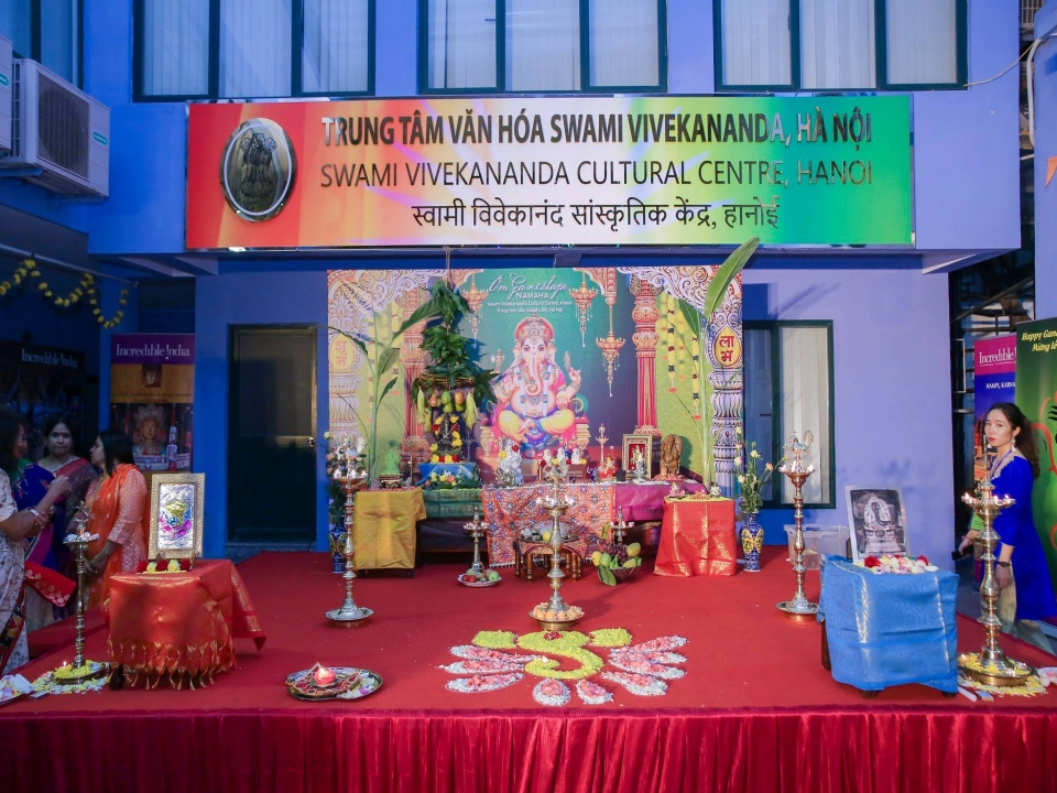 Celebration of Ganesha Festival 2018 at SVCC, Hanoi