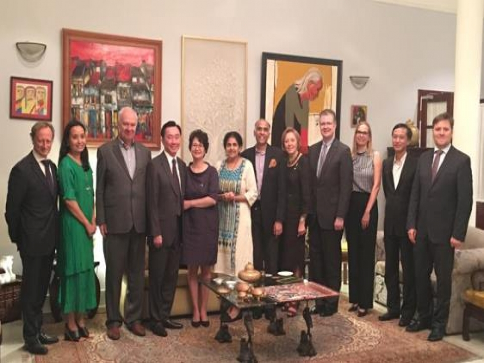 Dinner for Ambassador Designate of Vietnam to India