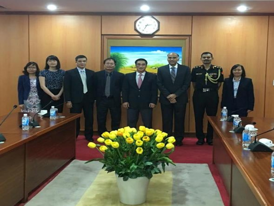 Meeting with Vice Minister of Finance of Vietnam
