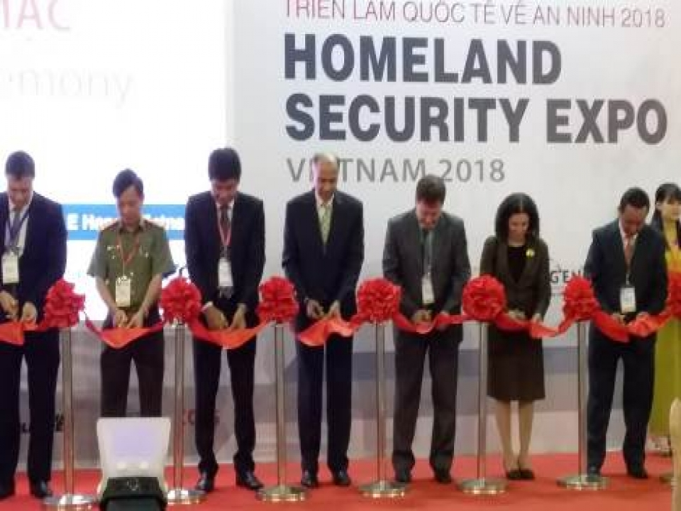 Homeland Security Expo, Vietnam-2018
