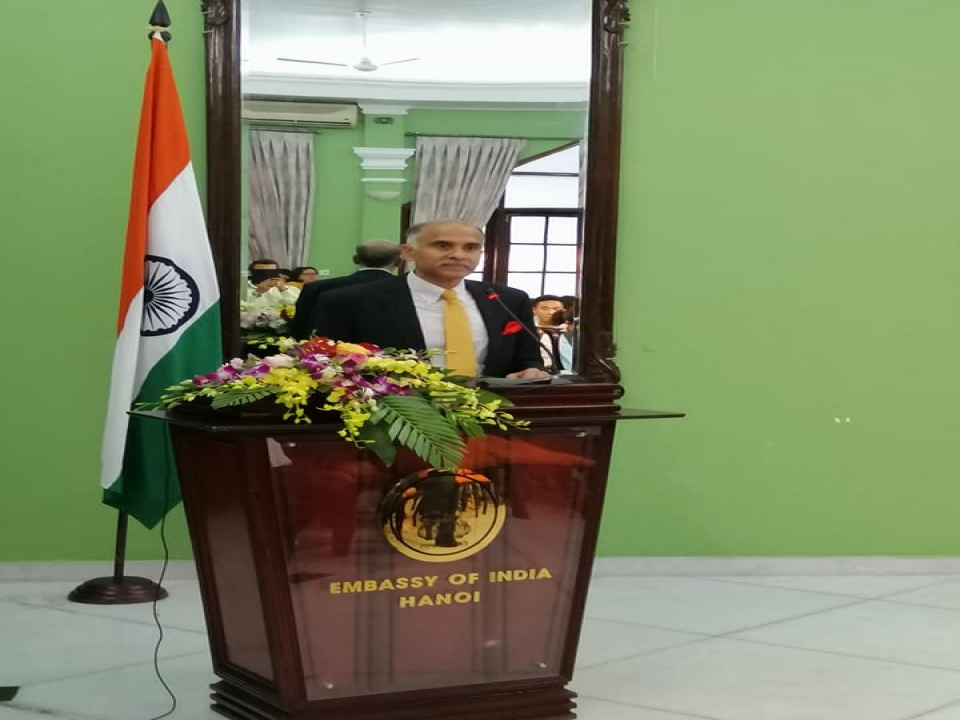 Press Briefing on State Visit of Rashtrapatiji to Vietnam