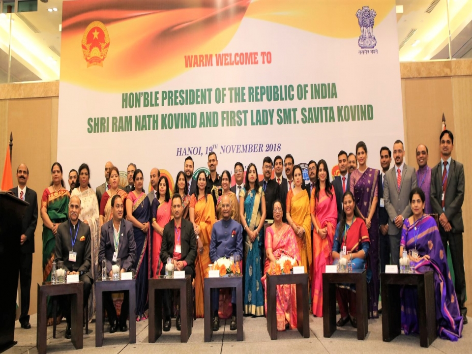 Indian Community and Friends of India Reception in Vietnam
