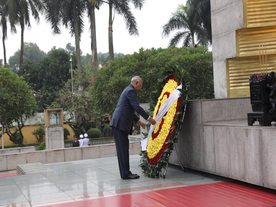 Wreath-Laying Ceremony at Monument of National Heroes and Martyrs