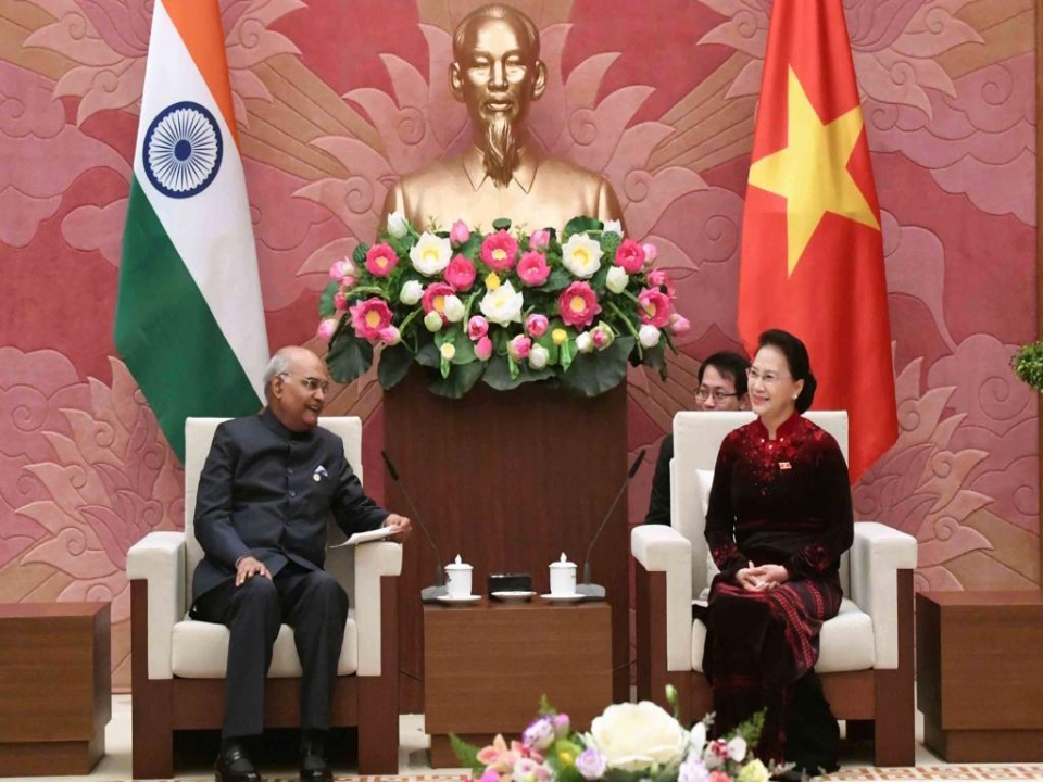 Meeting with Chairperson of the National Assembly of Vietnam