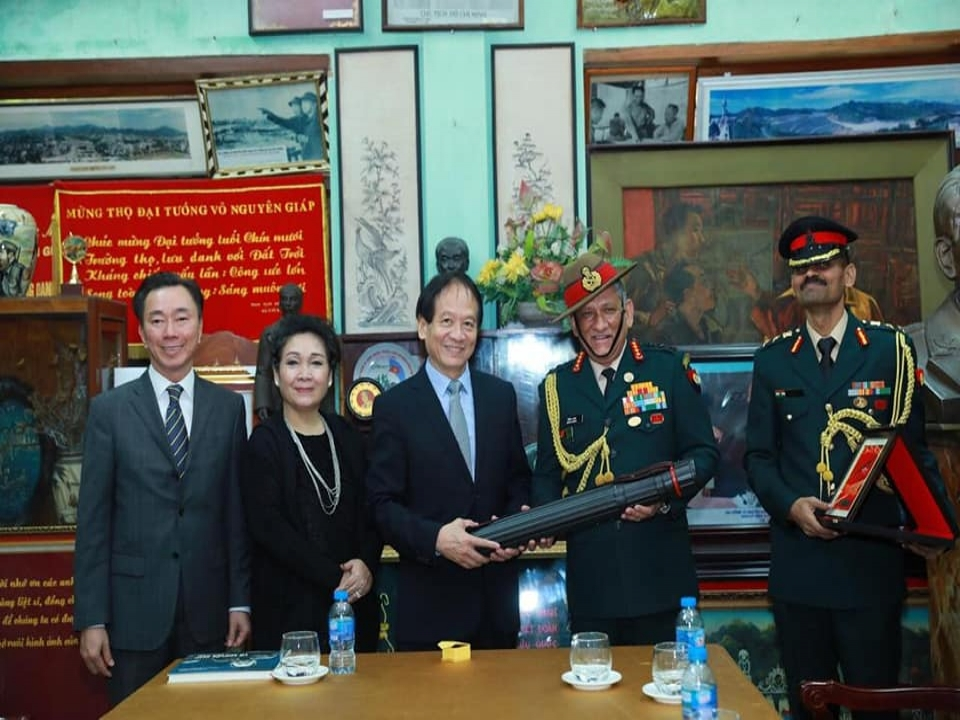 Visit to Memorial House of General Vo Nguyen Giap