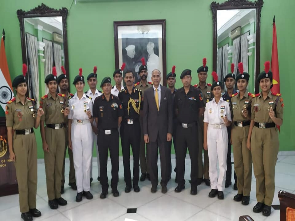 Interaction with NCC Cadets