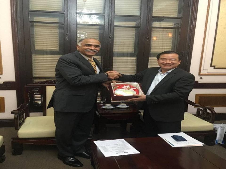 Call on Dr. Ha Van Sieu, Vice Chairman, VNAT