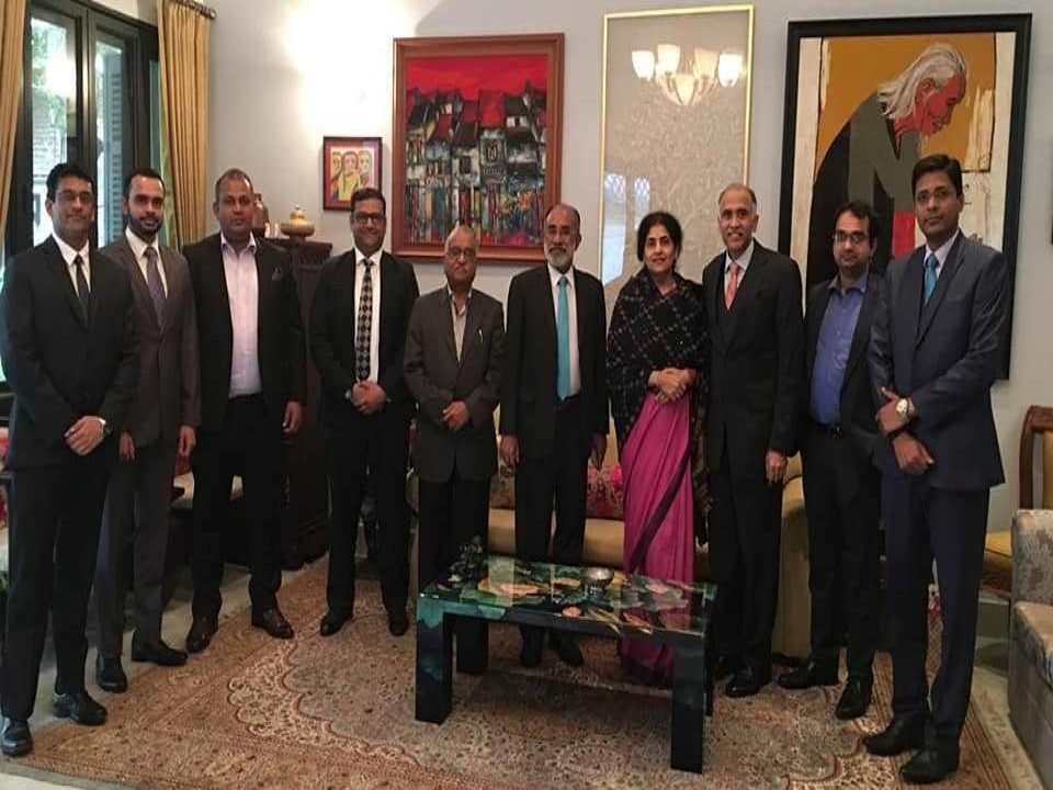 Lunch hosted by Ambassador in honor of MOS(I/c) of Tourism