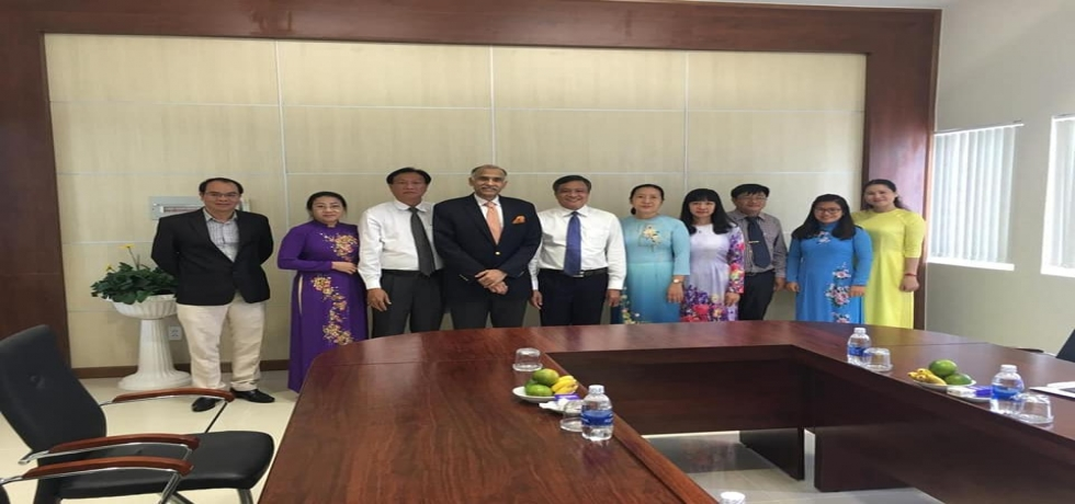 Meeting with Chairman, People's Committee of Kien Giang Province