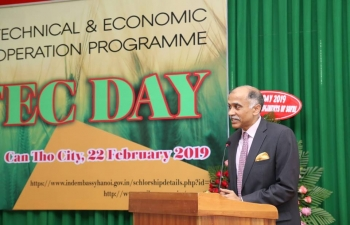 ITEC Day was held at Cuu Long Rice Research Institute (CLRRI) in O Mon District in Can Tho City on 22 February 2019.