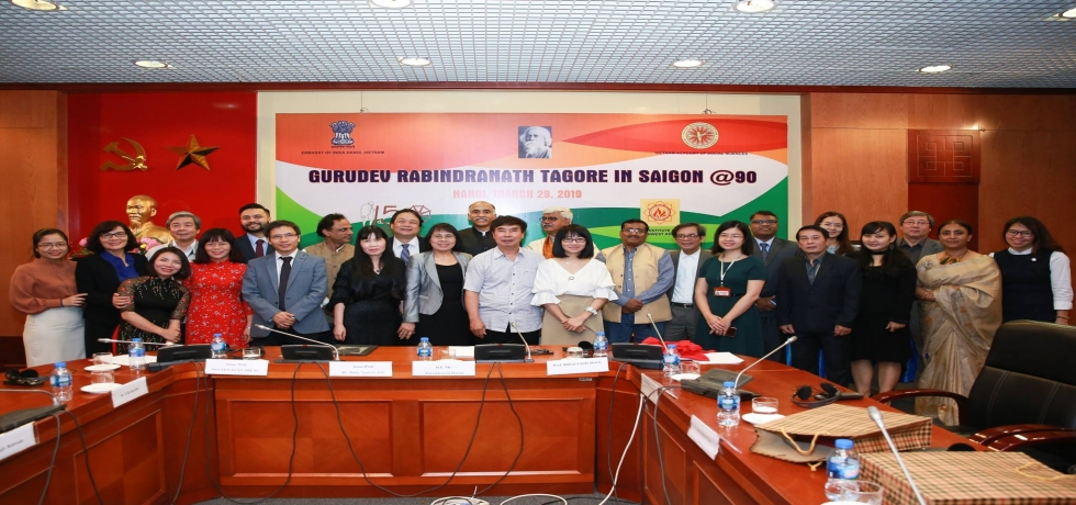 Conference on Gurudev Rabindranath Tagore in Saigon @90