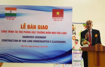 Inauguration of Van Lung Kindergarten, Phu Tho Province