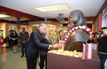 Gurudev Rabindranath Tagore in Saigon@90- Floral Tribute Ceremony