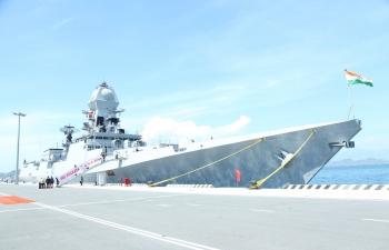 Indian Naval Ships INS KOLKATA and INS SHAKTI visit to Vietnam