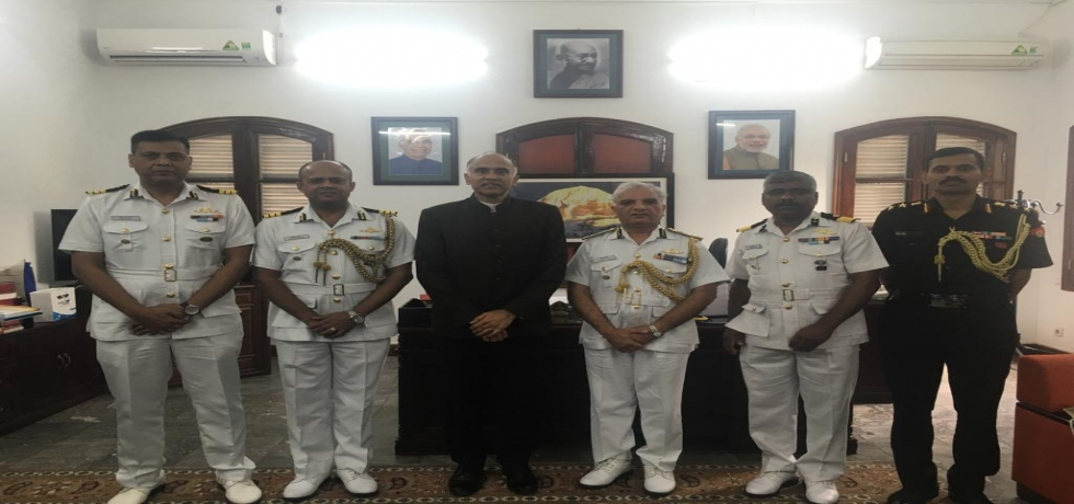 Meeting with Indian Coast Guard delegation