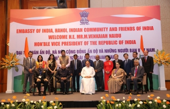 Indian Community and Friends of India Reception