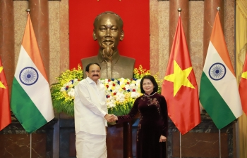 Delegation Level Talks between HVPI and Vice President of Vietnam