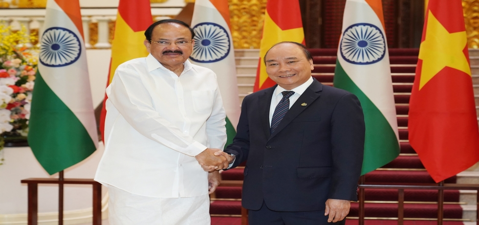 Hon'ble Vice President met Prime Minister Nguyen Xuan Phuc and discussed means of further strengthening the Comprehensive Strategic Partnership between the two countries.