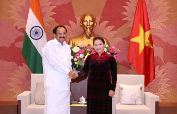 Meeting with Chairperson of National Assembly of Vietnam