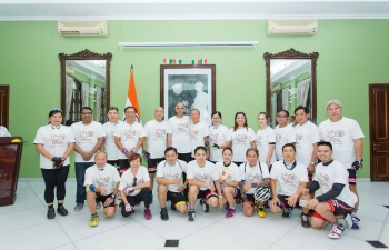 Cycling Event organised by Embassy and SVCC, Hanoi