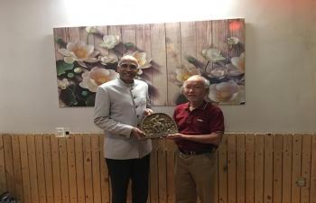 Farewell Meeting with VIFAD, Danang City
