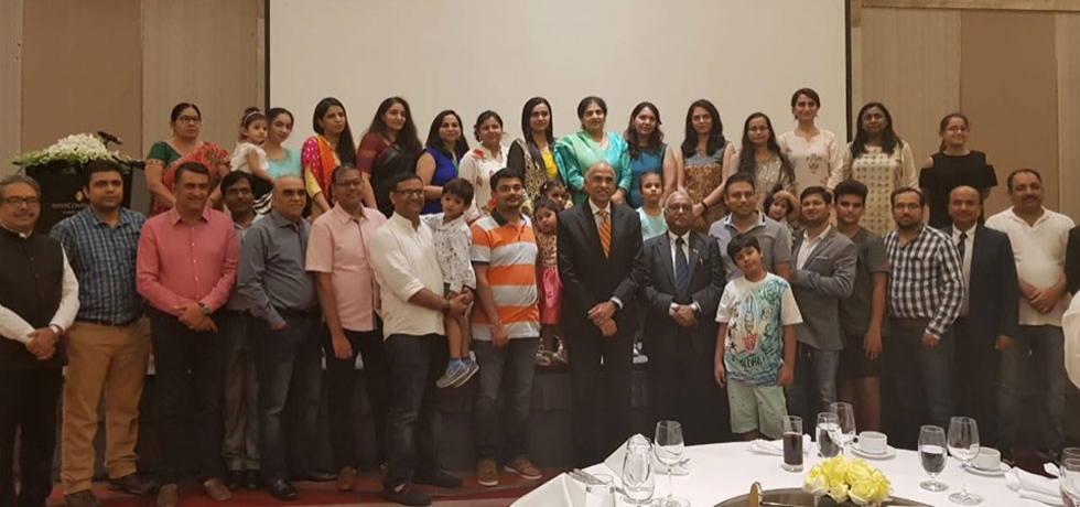 Indian Business Chamber in Vietnam (INCHAM) - Hanoi hosted a farewell for Ambassador P. Harish and Mrs. P. Nandita, which was attended by INCHAM members and families and members of the Indian community.