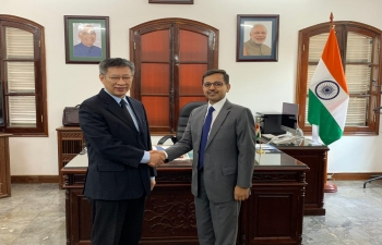 Ambassador meets Vice Chairman of External Relation Commission of CPV