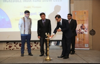 Embassy hosts Incredible India Roadshow