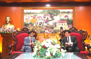 Ambassador meets Director General of Voice of Vietnam